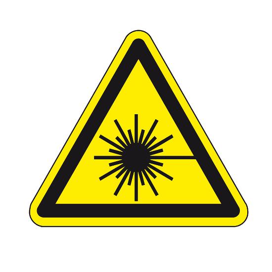 Picotronic LABEL-WARNZEICHEN-LASERSTRAHLUNG
