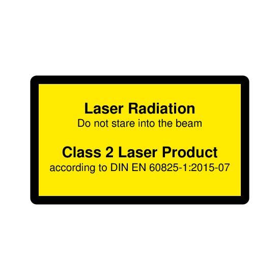 Picotronic LABEL-DIN-CLASS2-EN
