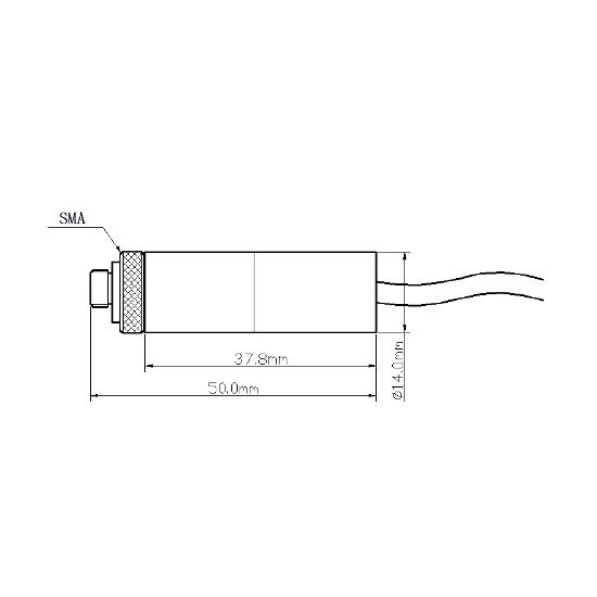 Picotronic F650-1-5(14x50)-CON-SMA