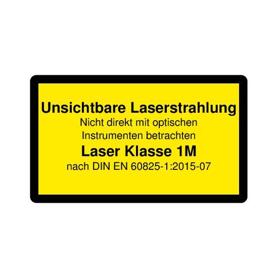 Picotronic LABEL-DIN-CLASS1M-IR-DE