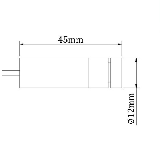 Picotronic Laser LH650-5-5-F(12x45)60