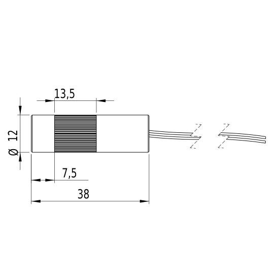 Picotronic DD850-5-3(12x38)-DOE372