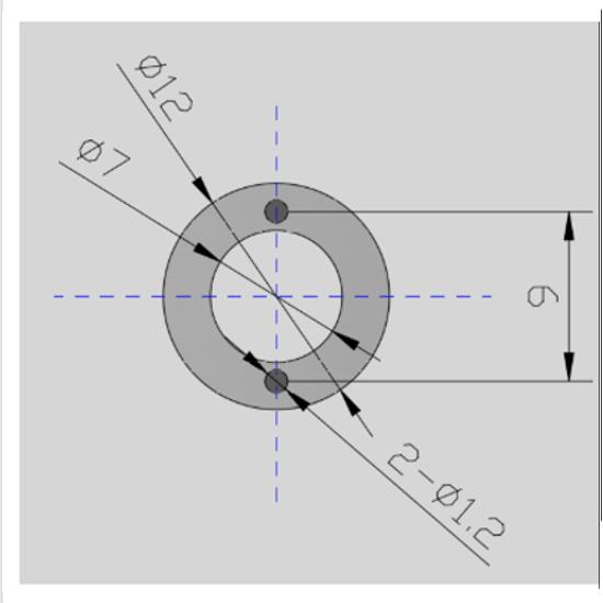 Picotronic Laser LE520-7-3(12x34)10DEG