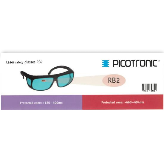 Picotronic PROTECTION-GLASSES-LABEL-RB2