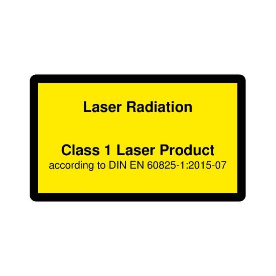 Picotronic LABEL-DIN-CLASS1-EN