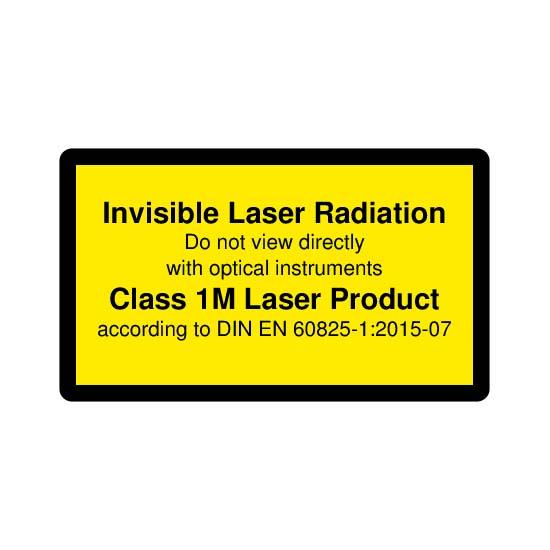 Picotronic LABEL-DIN-CLASS1M-IR-EN