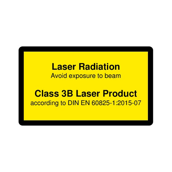 Picotronic LABEL-DIN-CLASS3B-EN