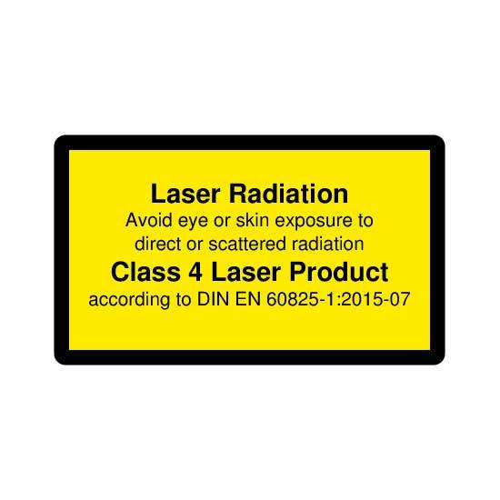 Picotronic LABEL-DIN-CLASS4-EN