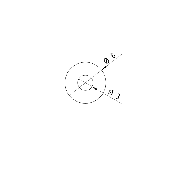 Picotronic Laser LI650-4-3(8x26)30DEG-F84-C140