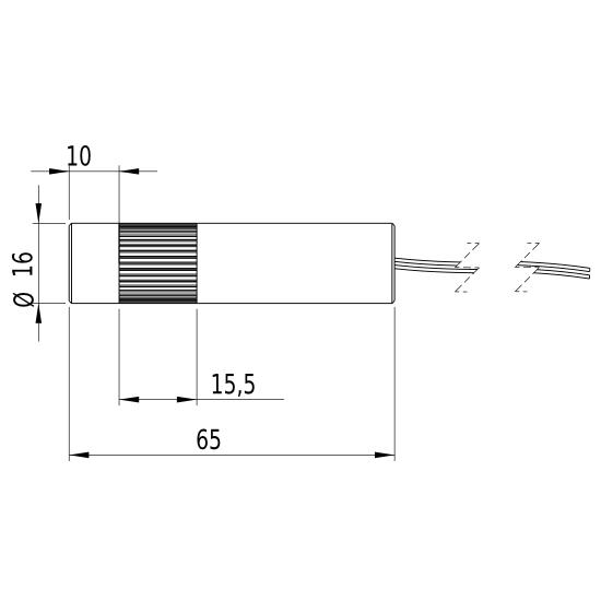 Picotronic DOE254-635-5-24(16x65)-NT