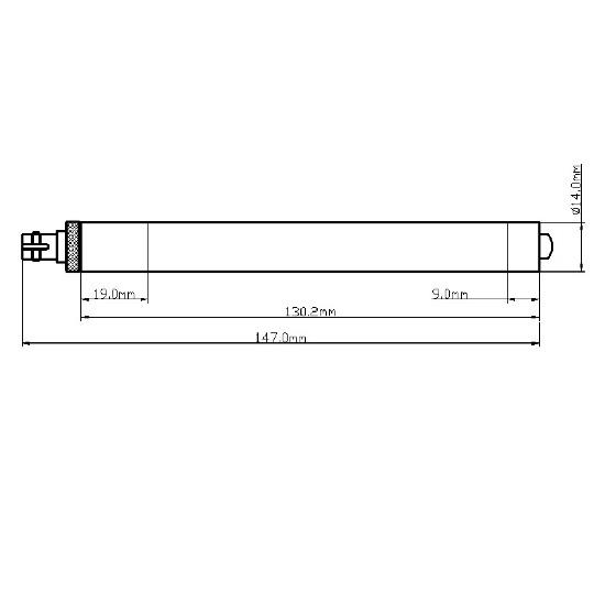 Picotronic F450-50-3(14x147)-S-FIBER3M