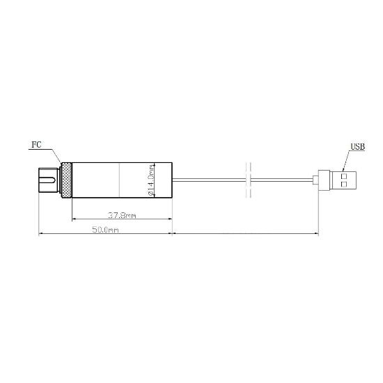 Picotronic MF450-20-5(14x50)-USB-FIBER1000