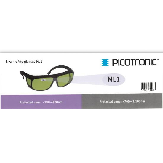 Picotronic PROTECTION-GLASSES-LABEL-ML1