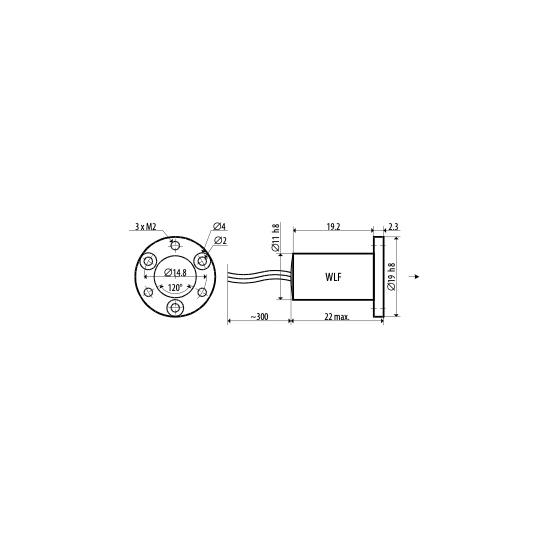 Picotronic DC650-1-5(11x22)-AP