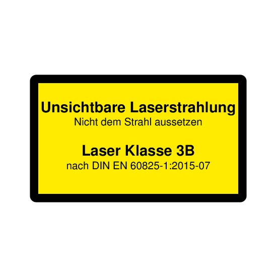 Picotronic LABEL-DIN-CLASS3B-IR-DE