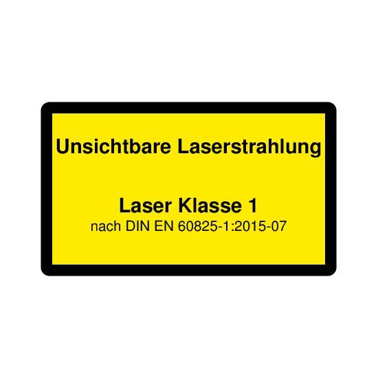 Picotronic LABEL-DIN-CLASS1-IR-DE