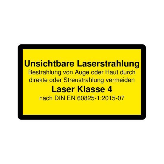 Picotronic LABEL-DIN-CLASS4-IR-DE
