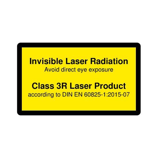 Picotronic LABEL-DIN-CLASS3R-IR-EN