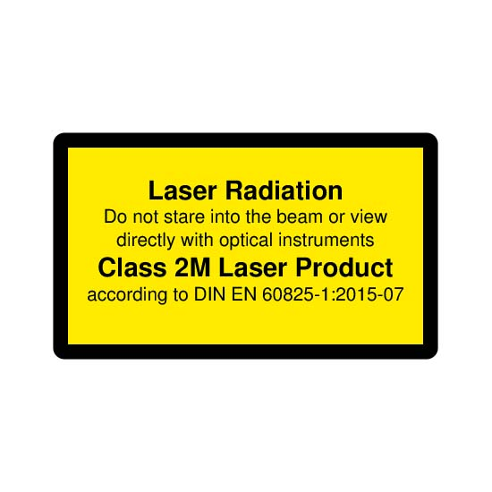 Picotronic LABEL-DIN-CLASS2M-EN
